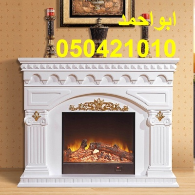 1-5-Miou-style-white-wood-font-b-fireplace-b-font-American-Pastoral-cabinet-heating-fake